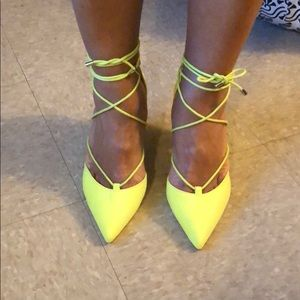 *BRAND NEW* lace up high heel shoes